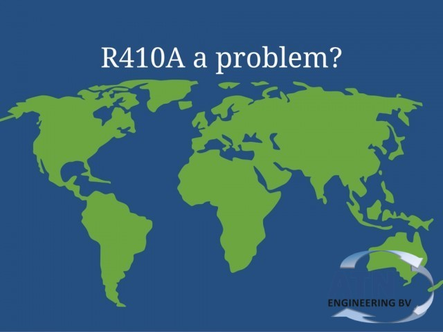 Is R410A a problem for the recycling?