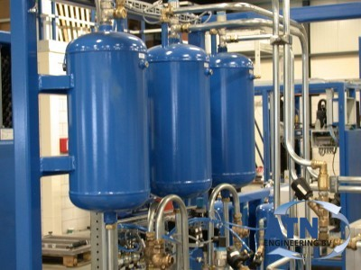 New handling system for refrigerator degassing